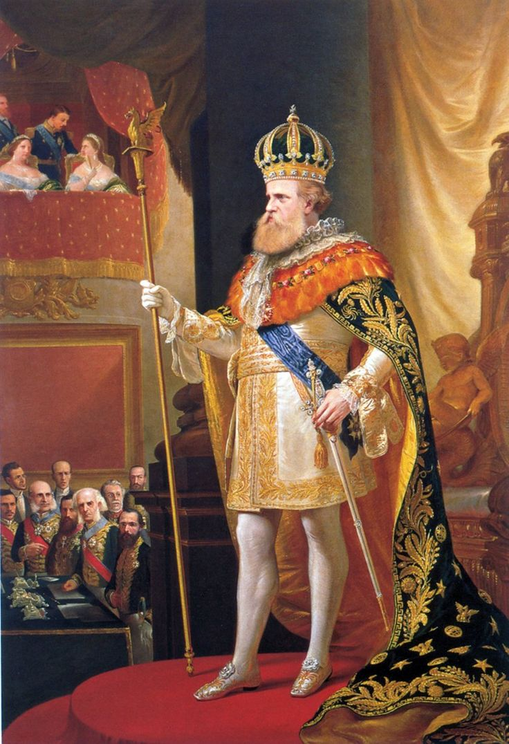 The Emperor's speech (Pedro II of Brazil in the oppening of the General Assembly) by Pedro Américo (1872)