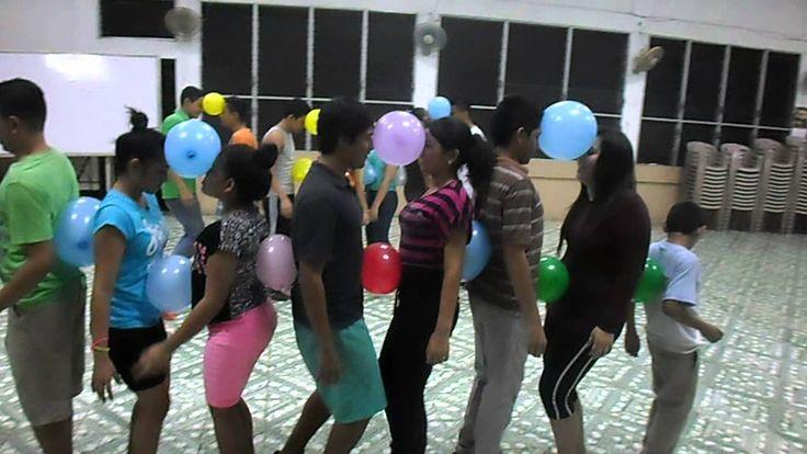 Dinamicas & Juegos para jovenes | Juegos con globos | Coordinacion