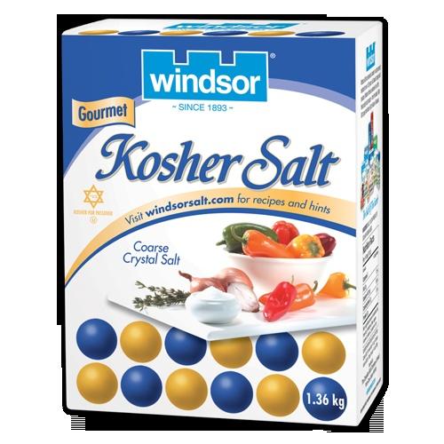 Windsor Salt Packaging design | 3H Communications Inc.