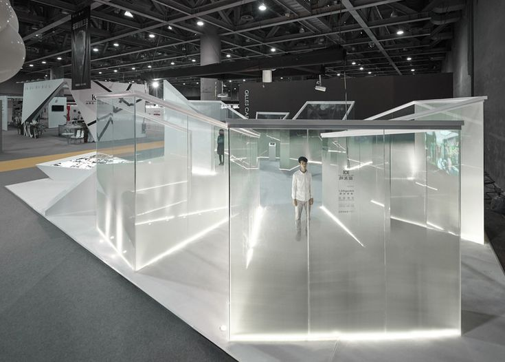 Exhibition Stand Installation : Tahoe qingyun town shanghai tianhua architectural design