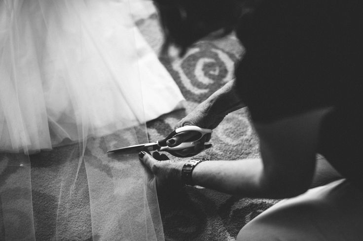 Final Touches before the ceremony - Park Hyatt Melbourne Weddings