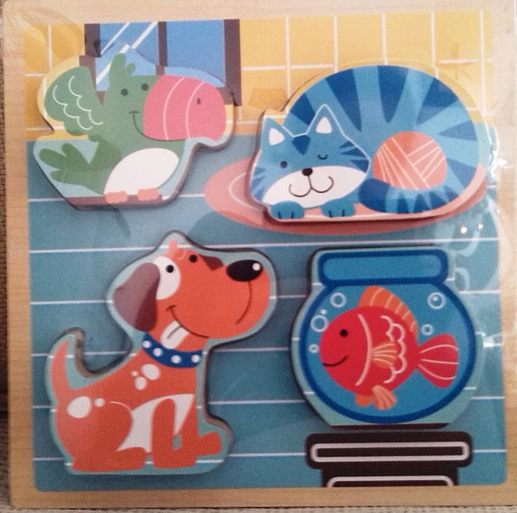 ENCAJE MASCOTAS (8,50 €) http://www.babycaprichos.com/puzle-infantil-relieve-mascota.html