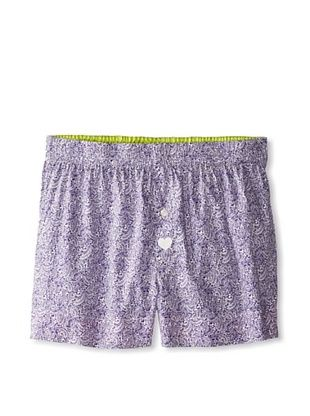 57% OFF Max Holliday Men's Lucas Boxers (Purple/white)