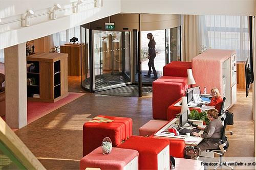Project: Kantoor ZLTO  Architect:de Architekten Cie.  Land:Nederland  Plaats:'s-Hertogenbosch  Product:Tourniket  Segment:Kantoorgebouwen