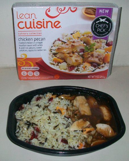 Roasted Chicken Pecan in Maple Bourbon Sauce Lean Cuisine Ingredients ...