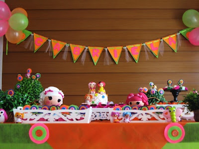 decoração lalaloopsy: 9Th Birthday, Doll, Cloth, Feast, For Parties, Birthday Party