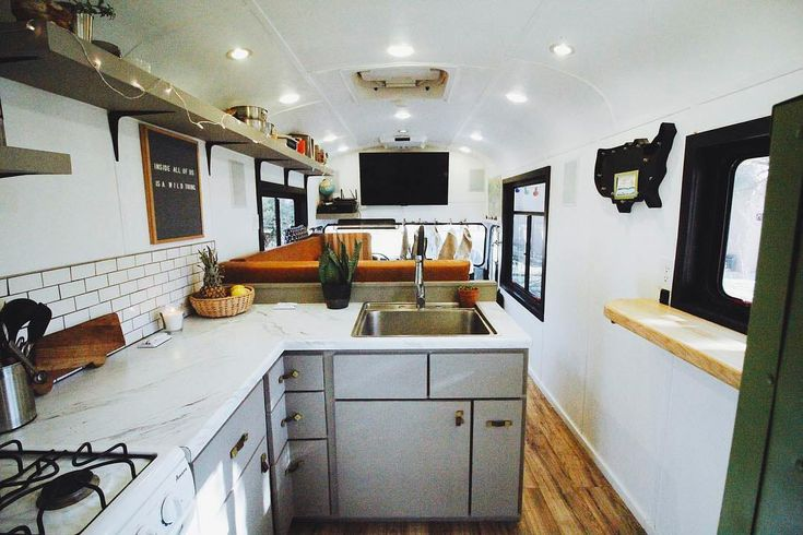 Cool article on tons of different school bus conversions! For those who don't want to quite commit to the #vanlife these bus builds make the perfect camper! Lots of DIY ideas here and many cool interior examples!