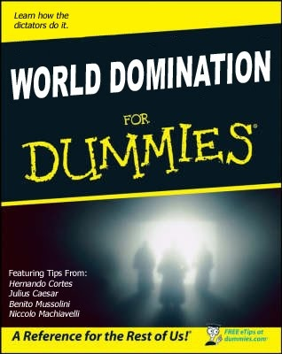 Global domination conspiracy