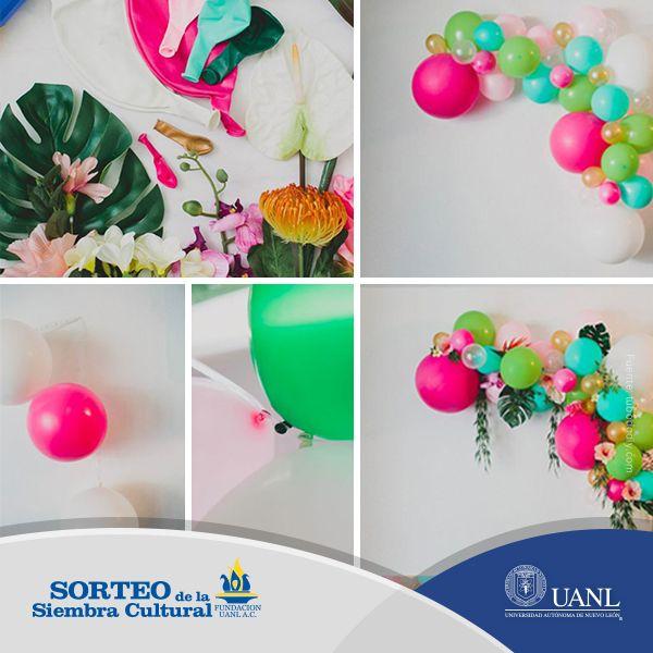 ¿Tienes alguna celebración próximamente? Te compartimos una idea para la decoración.
