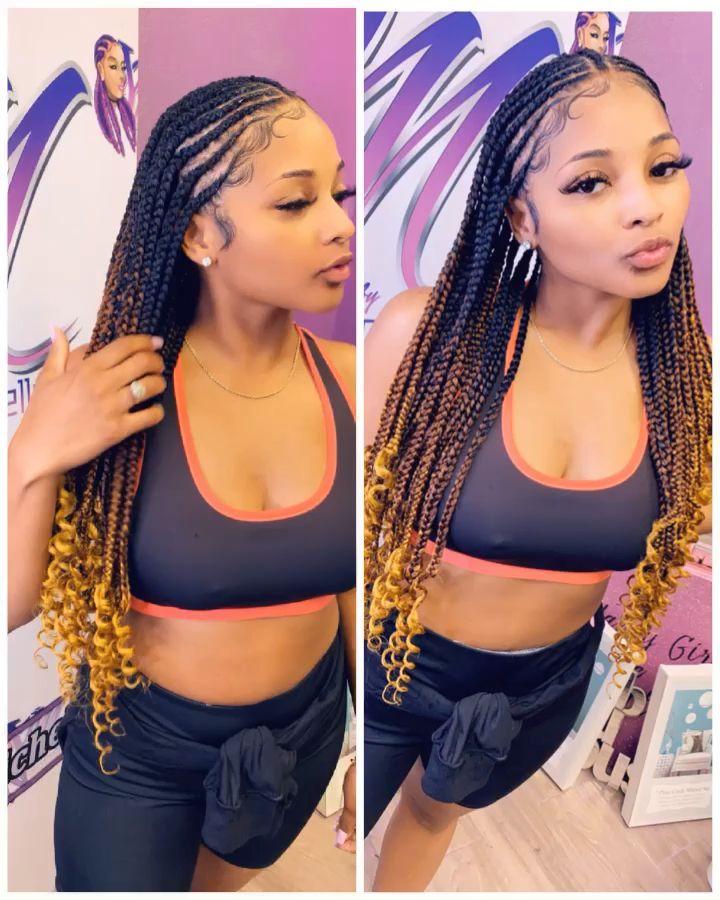 For More Pins In 2020 Lemonade Braids Hairstyles Braided Hairstyles Natural Hair Styles