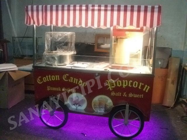 Popcorn + Pamuk Şeker Arabası » - Sanayi tipi