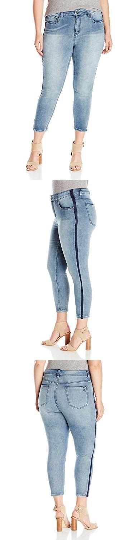 Melissa McCarthy Seven7 Women's Plus Size Skinny Jean, Sideways, 14W