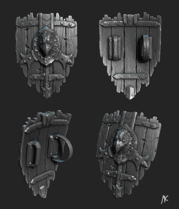 Medieval Shield, Martin Kepplinger on ArtStation at https://www.artstation.com/artwork/medieval-shield-fc6d07f4-f3dc-4ce4-8092-a6a00c67108d