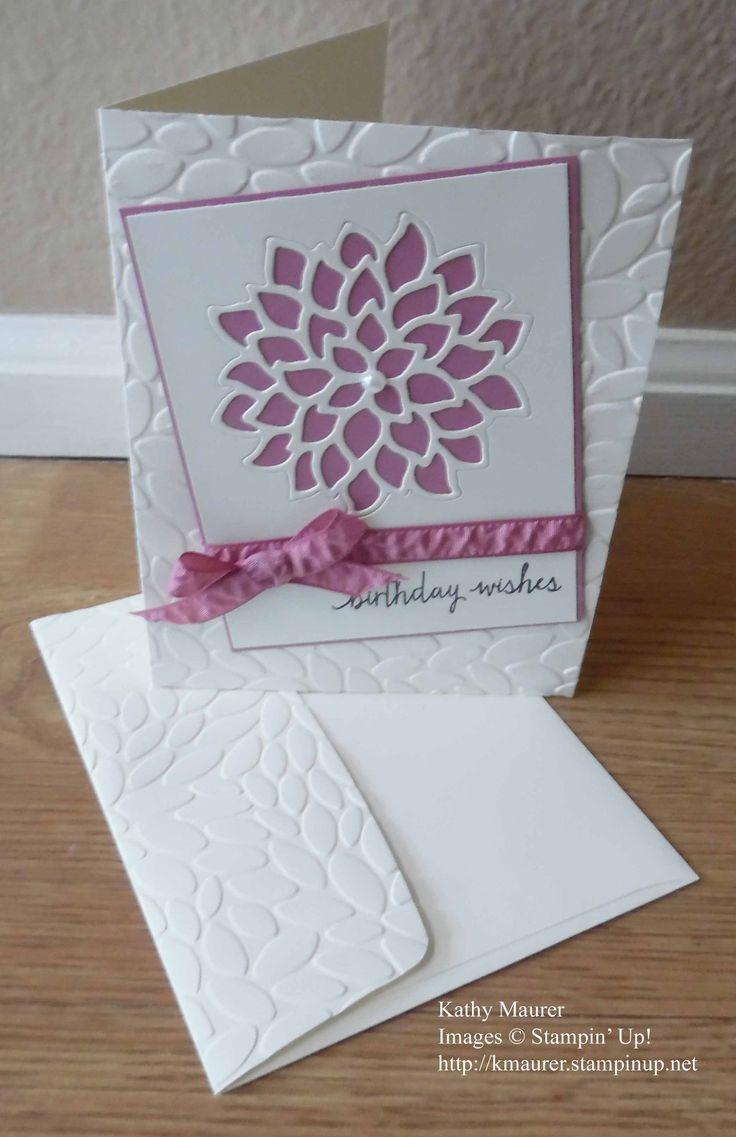 May Flowers Birthday Card : Kathy's Blog