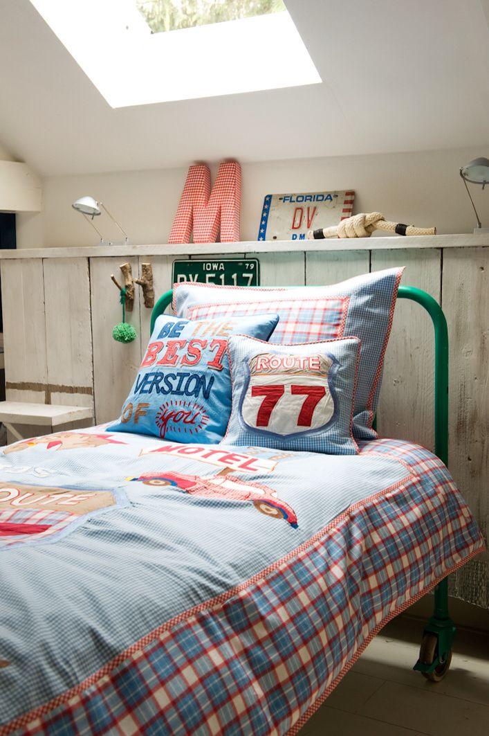 Room Seven boys bedding F14