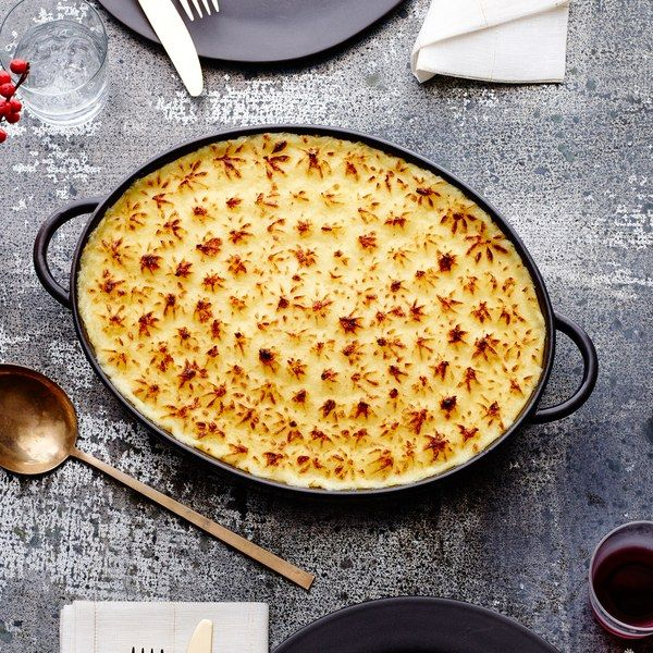 We combined the rich and indulgent cheesiness of Pommes Aligot and the beautifully swirled rosettes of Pommes Duchesse into one super-luxe casserole that looks fancy but is surprisingly simple to make.