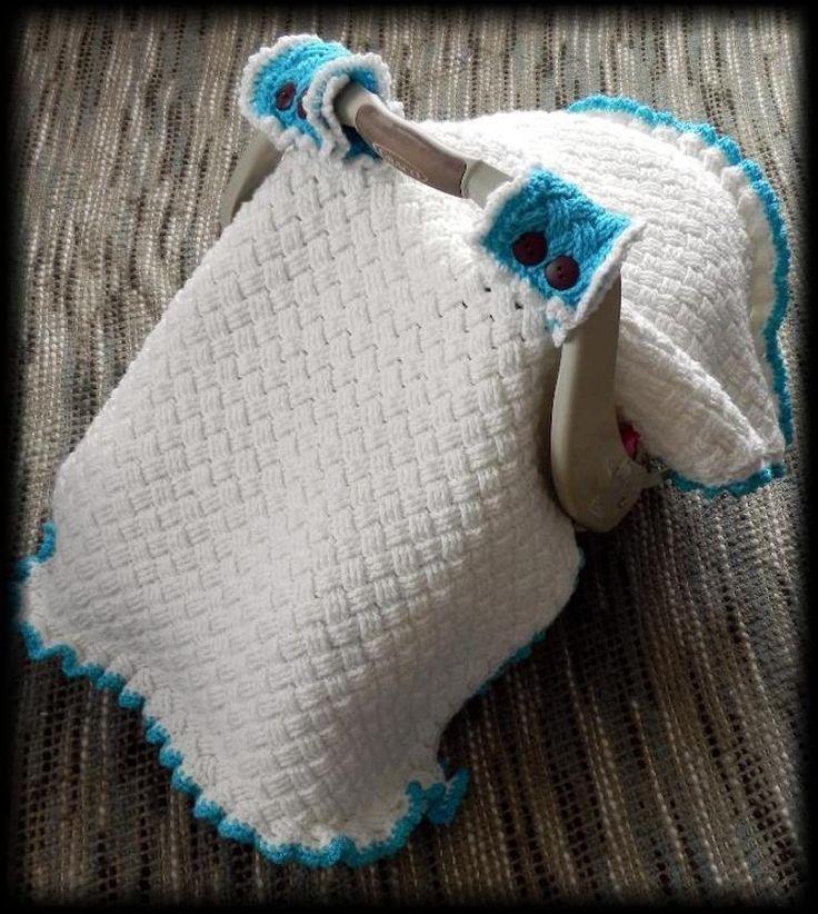 Mejores 16 imágenes de Crochet car seat cover en Pinterest ...