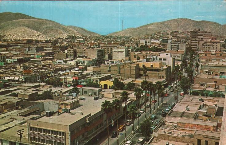 VISTA PANORAMICA, dominando la av. Morelos. Torreón, Coah.