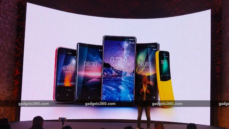 Nokia 8 Sirocco Nokia 7 Plus Nokia 6 (2018) Nokia 1 Nokia 8110 4G India Launch Date Revealed  HMD Global announced the launch of five new Nokia mobiles at Barcelona on Sunday  the Nokia 8 Sirocco the Nokia 7 Plus the Nokia 6 (2018) and Nokia 1 Android smartphones as well as the Nokia 8110 4G. While international pricing for the phones has been announced there has been no word on their India price as well as launch dates. Well one of that has changed now.  In an exclusive chat with Gadgets…