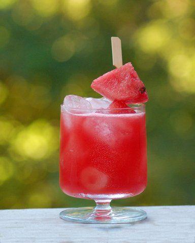 Recept Watermeloen Margarita. Lekker ijskoude watermeloen cocktail. Heerlijk zomers en feestelijk.