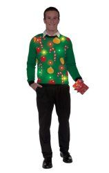 Forum Novelties Adult Tis The Season Light-Up Ugly Christmas Sweater : :  http://www.reallygreatstuffonline.com/forum-novelties-adult-tis-the-season-light-up-ugly-christmas-sweater/