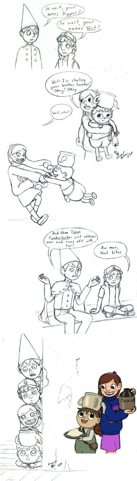 Hey, look! More Over the Garden Wall/Gravity Falls crossover! What can I say? It's pretty much perfect.