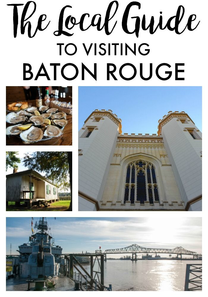 The Local Guide to visiting Baton Rouge, Louisiana. Tips on what to see, eat, drink, see and do in the South!