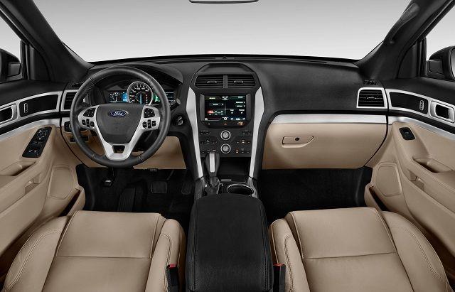 2016 Ford Explorer - interior