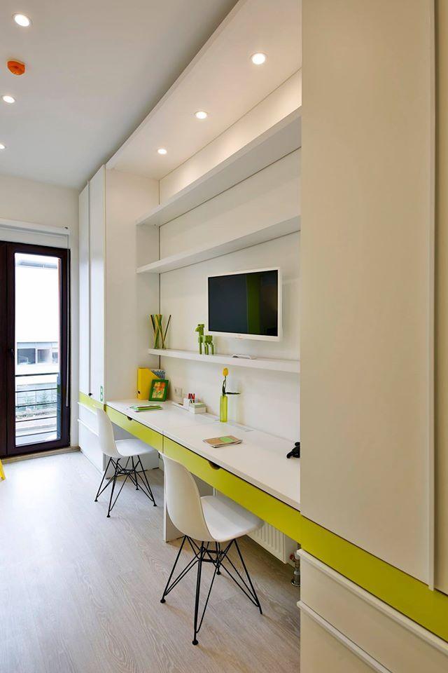 girls dormitory room interior design #rendahelindesign #winner #award #europeanpropertyawards #publicserviceinterior #publicservicesdevelopment #propertyawards #decor #decoration #interior #interiordesign #konforist #dorm #girls #InternationalPropertyAwards