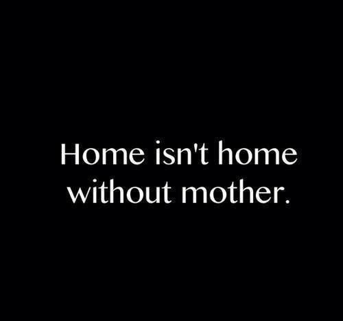 There's nothing like your Mom's house :(