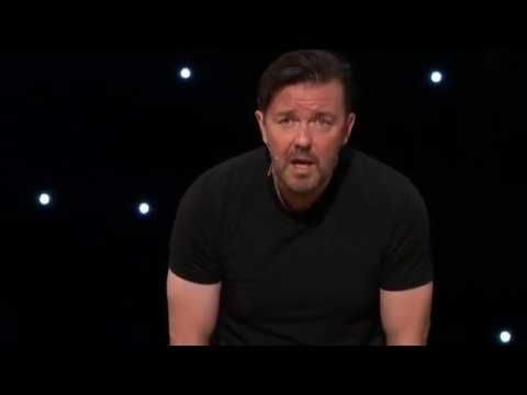 Ricky Gervais e il regalo di Natale (sub ita)