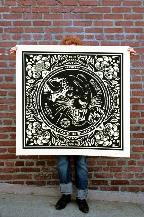 Obey records Shepard fairey