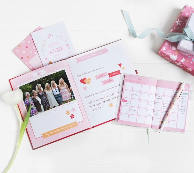 kikki.K - Mum Memory Book, $29.95 Features a gorgeous Limited Edition slip case with a beautiful floral design. Recount precious memories and fill with gorgeous photographs to make a keepsake to cherish forever.