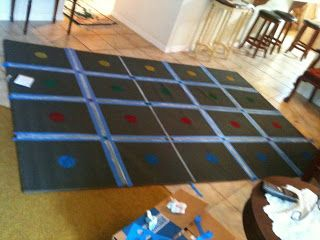 DIY classroom rug. What a great idea!!!