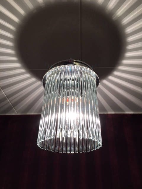 Excited to share the latest addition to my #etsy shop: Modern Look Vintage Glass Rod Ceiling Chandelier Style Light Fixture