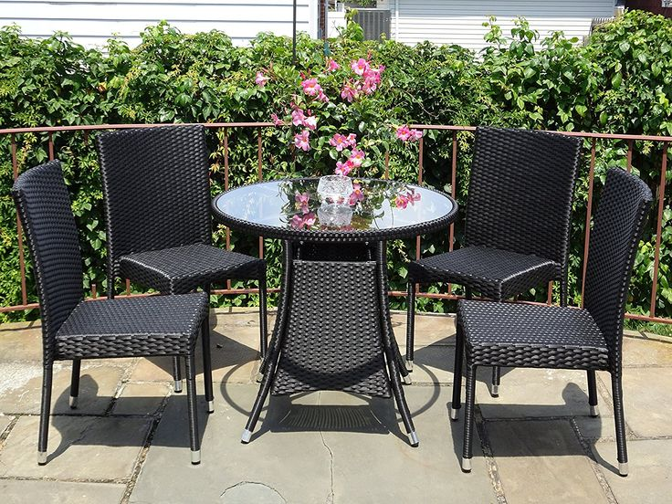 Wicker Patio Dining Sets! Discover the best rattan wicker dining sets for your outdoor patio, porch, balcony, or deck.