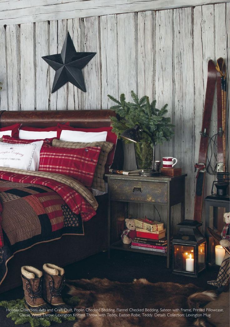 I'm looking at the white washed barn wood in this pic.  I have barn wood walls in my bedroom...have thought about painting them...will give it some more thought!