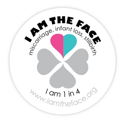 I am the face. October is Pregnancy and Infant Loss Awareness Month. For Emilee and all my Babies...
