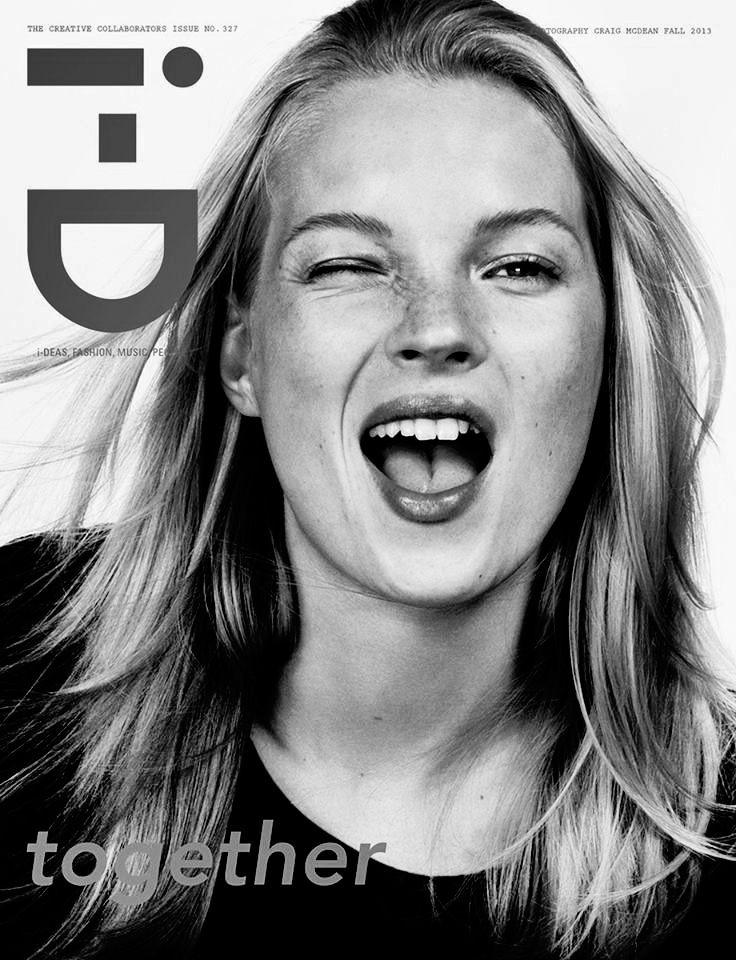 Kate Moss ID magazine 2013