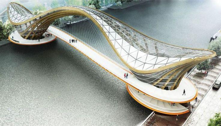 Mixed-use Bridge for Amsterdam | Laurent Saint-Val