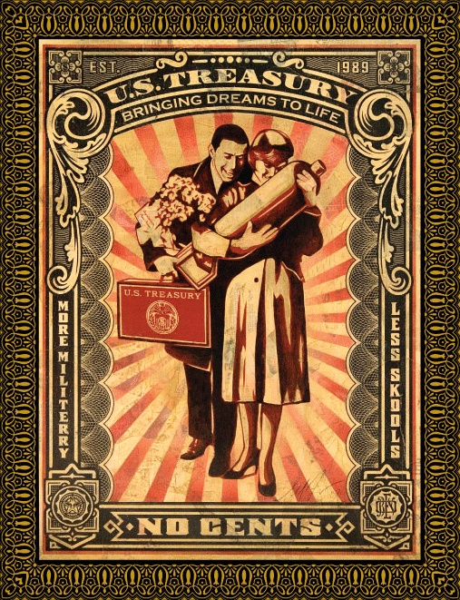 i love shepard fairey with my whole heart.