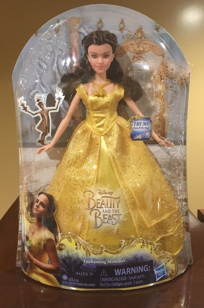 Disney Beauty and the Beast Singing Belle Enchanting Melody Ball Doll Girls Toy