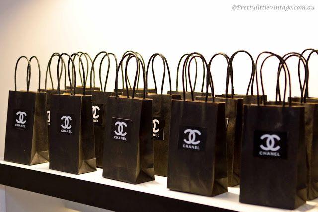 by patit - convites e complementos exclusivos: Festa estilo Chanel