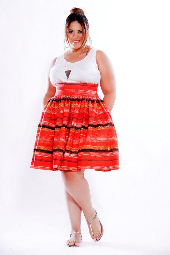 Flared skirt high waisted | Global trend skirt blog