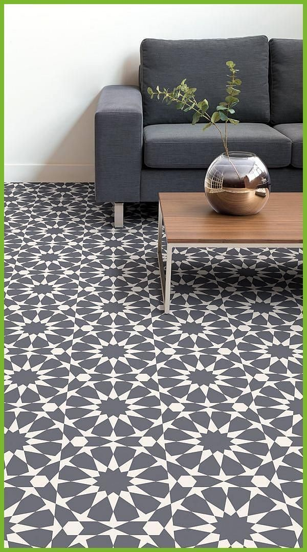 Rabat Is A Circle Pattern Vinyl Flooring Design That Features A Sophisticated Geometric Pattern O In 2020 Vinyl Flooring Tile Effect Vinyl Flooring Geometric Furniture