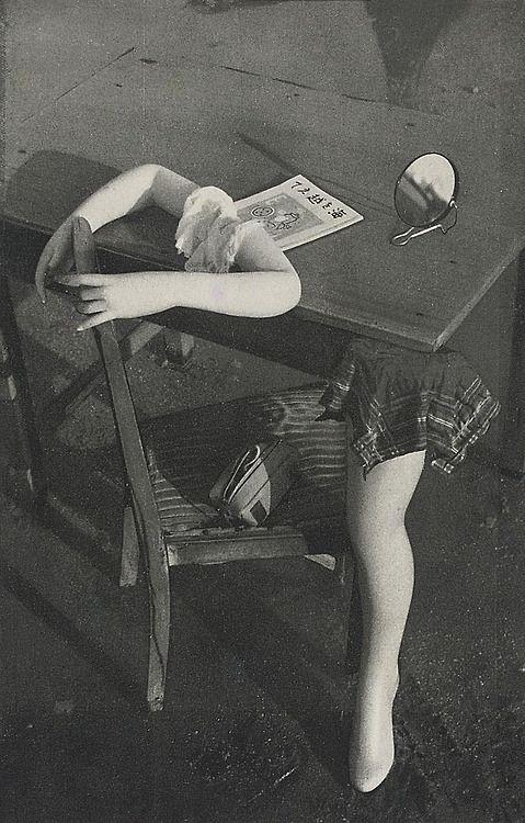 .Nakaji Yasui  安井 仲治 (1903-1942)  From the Photobook 'Hikari' (Light) Maruzen, Osaka, 1940
