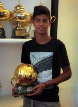 Hachim Mastour the youngest ever player to feature for AC Milan in Serie A