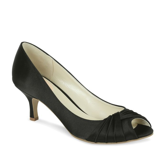 Pink by Paradox London 'Romantic' pleated peep toe shoe- at Debenhams Mobile