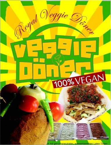 royal veggie doner
