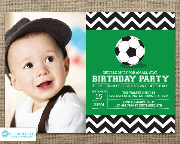 17 best Soccer images on Pinterest Soccer party Birthdays and